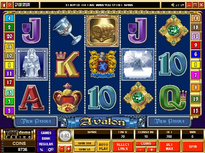 Spiele Lady Of Avalon - Video Slots Online