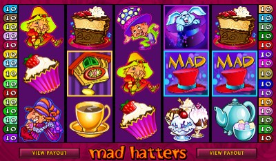 Mad Hattersslot machine