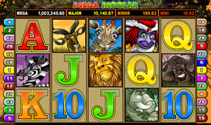 Mega Moolah video slot