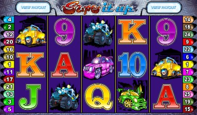 Supe It Up online slot game